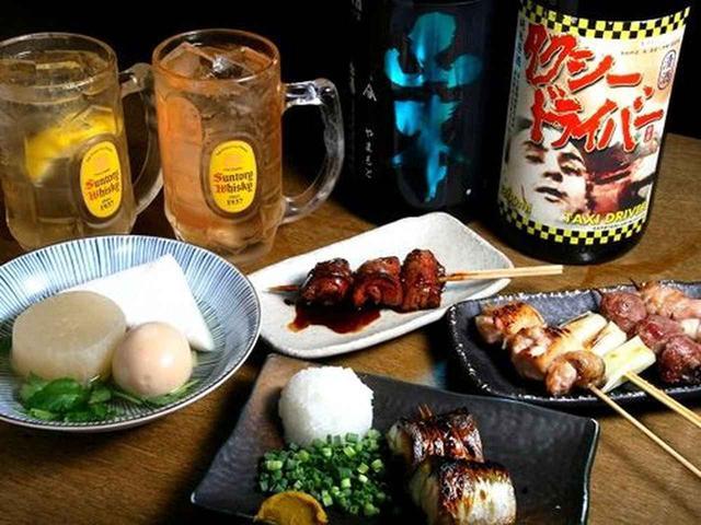 画像: 日本酒にもこだわりが。東京ではマニアックな店舗にしかない岩手の純米酒「タクシードライバー」も。今日は、秋田の「山本」も!