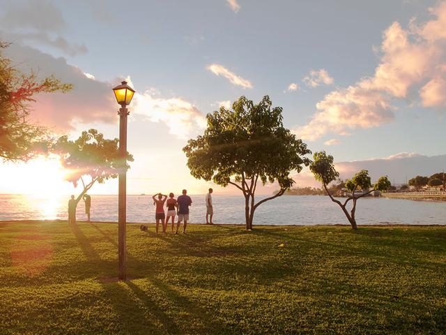 画像: ラハイナの夕暮れ(Lahaina Sunset)