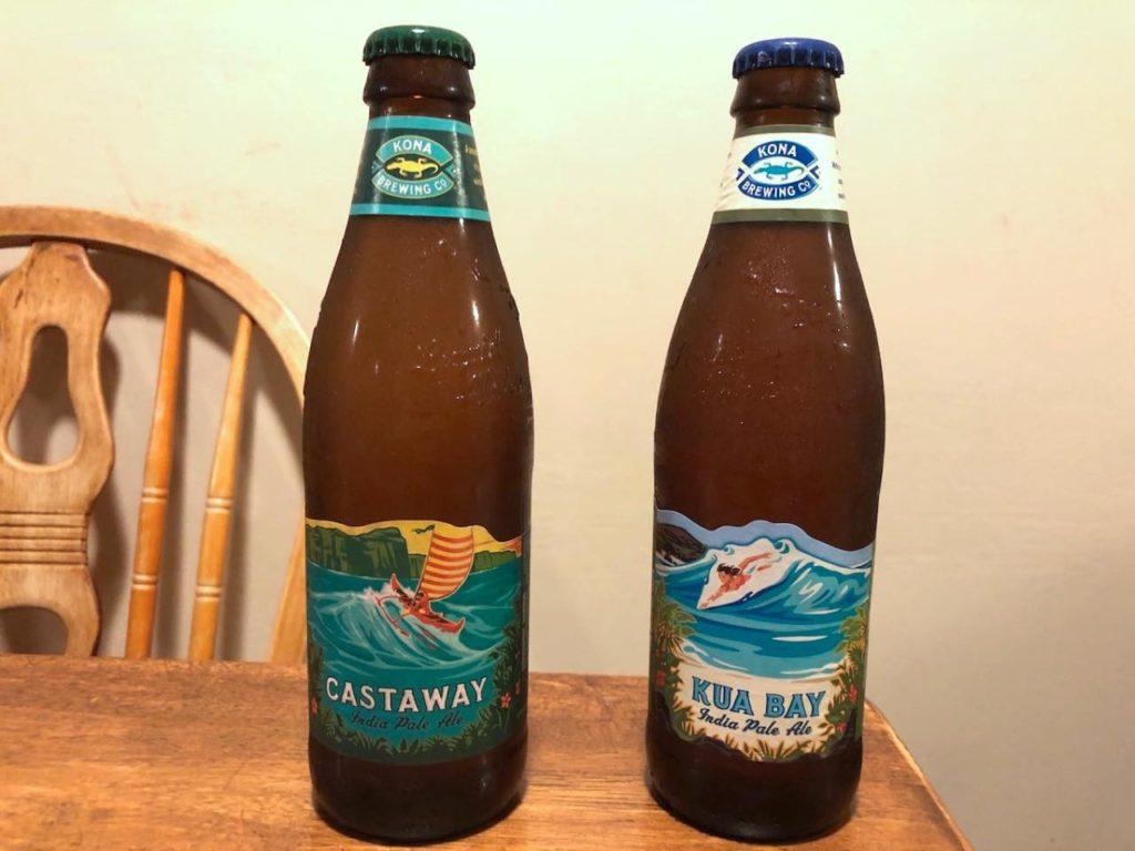 画像: コナ・ブリューイング・カンパニーのビールは缶もあるがボトル売りが中心