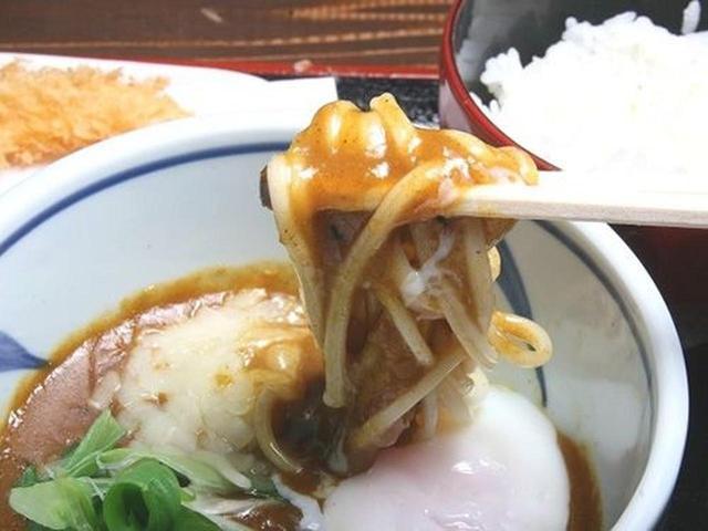 画像: もちろんうどんも美味しいですが、今回いただいたのは「淡路島ぬーどる カレーつけ麺」