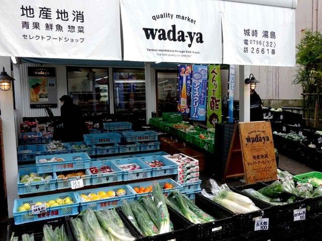 画像: 今回のお土産は、非常に悩んだあげく、地元の野菜にしました!オープンな敷地には、さまざまな野菜が所狭しと並んでいます。