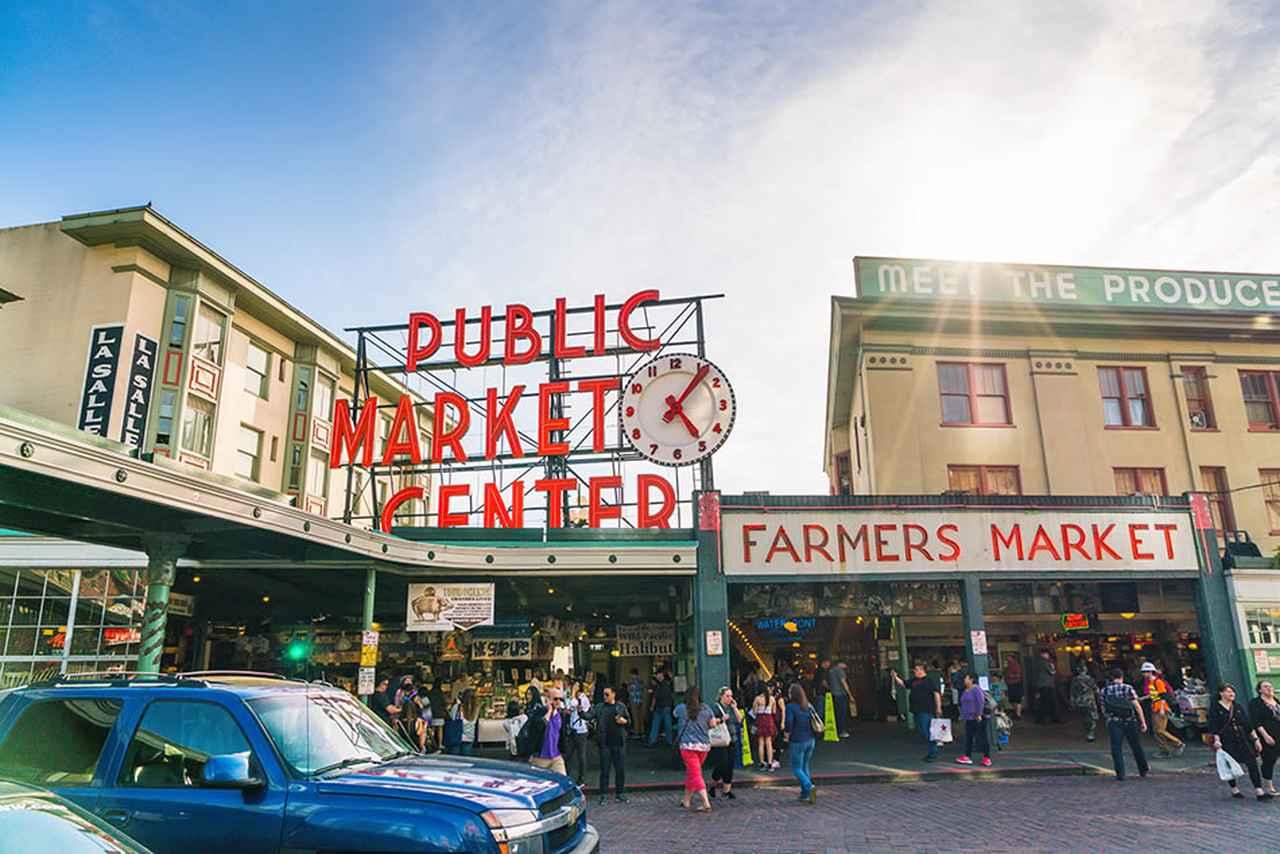 画像: パイク・プレイス・マーケット 写真提供:shutterstock