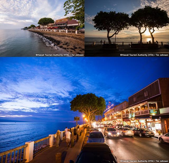 画像: ラハイナとパイア。マウイ島のローカルタウンへ