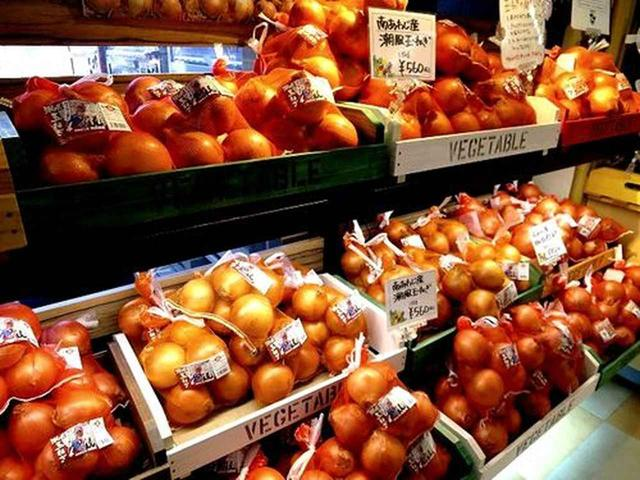画像: 淡路島産の玉ねぎである「潮風玉ねぎ」。「ひょうご安心ブランド特別栽培淡路島たまねぎ」認定。