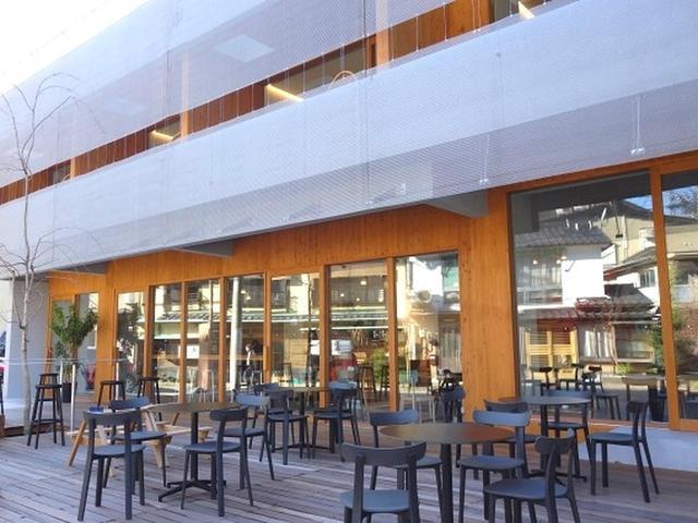 画像: 2018年10月1日グランドオープン。「つちや旅館」の新館という位置づけで、設計は建築家で近畿大学建築学部准教授の垣田博之氏。