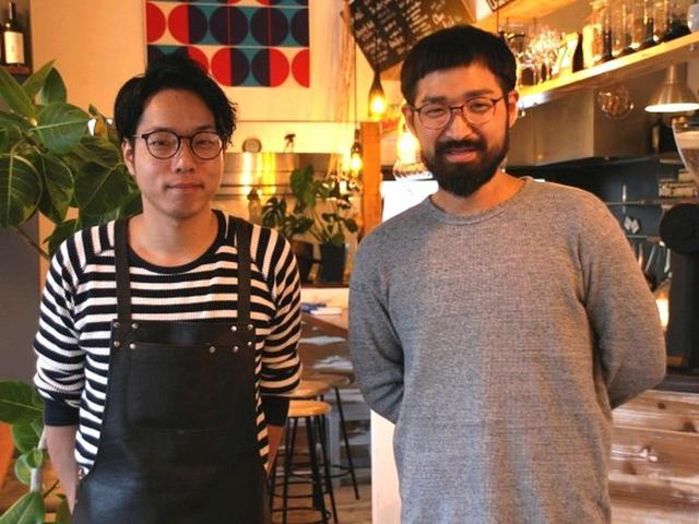 画像: 店舗を切り盛りするのは、フレンチの名店で腕を磨いた西浦優史さんとイタリアンの名店で経験を積んだ谷口忠広さん。