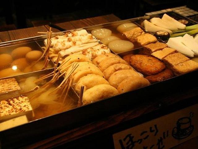 画像: おでんもいいですね!大根、玉子、はんぺん。熱々で、爽やかな味わい。