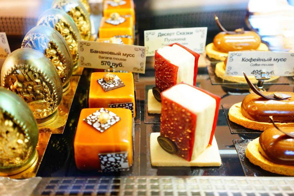 画像: コンフェクショナリーカフェ・プーシキンのケーキ