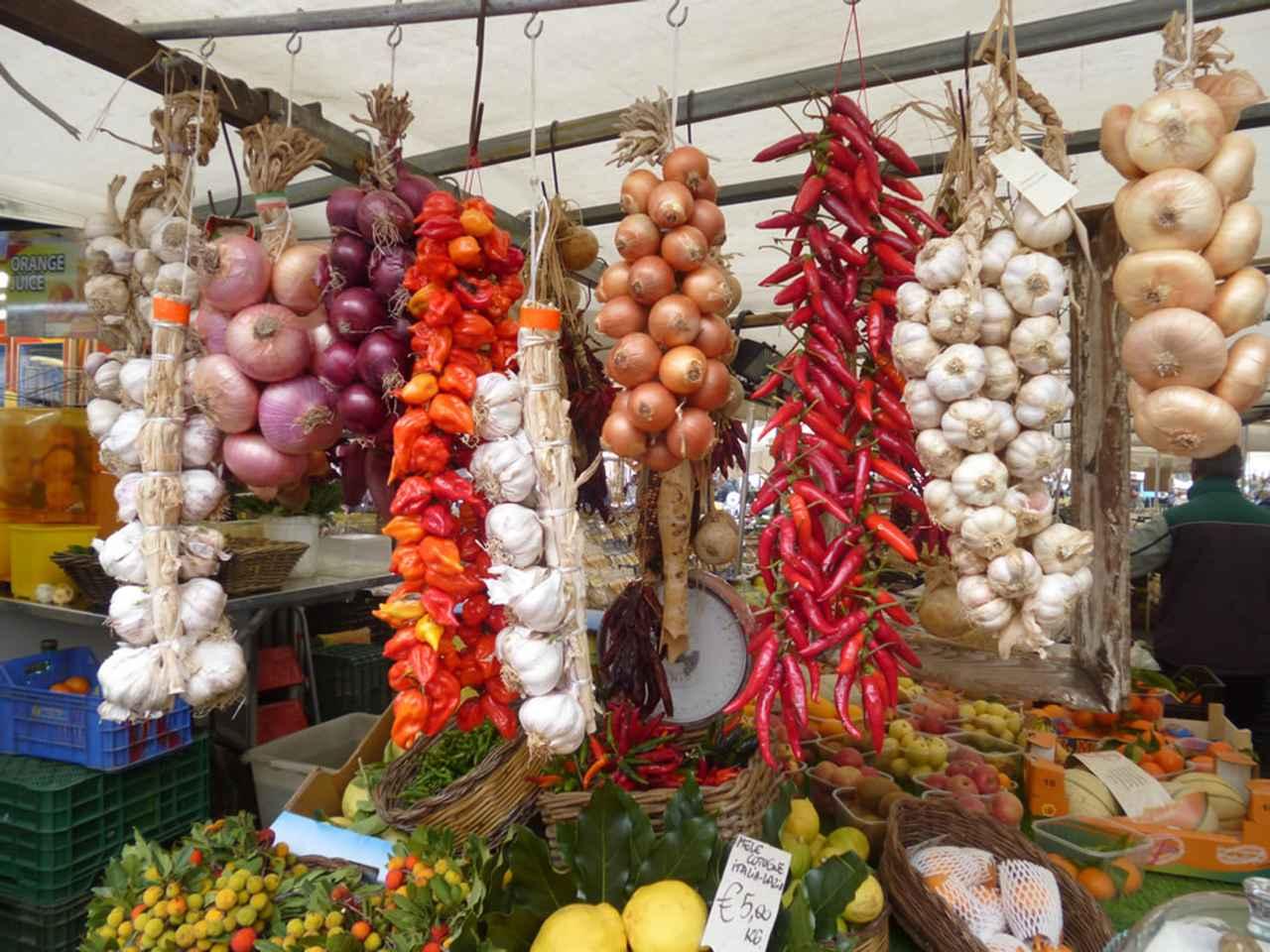 画像1: カンポ・ディ・フィオリ市場