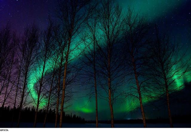 画像: 夜空に舞う光のカーテン オーロラの不思議