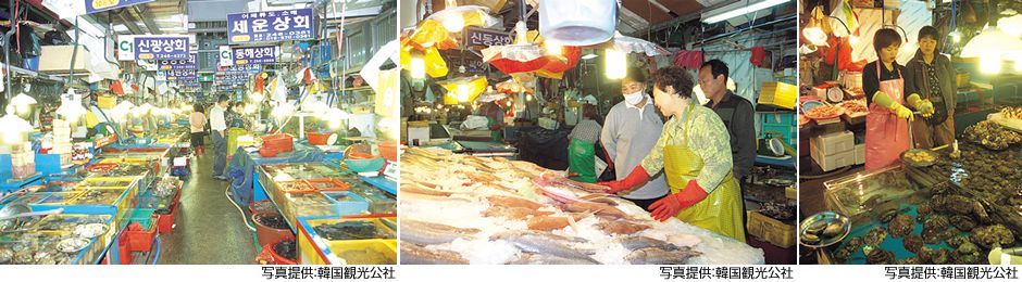 画像1: チャガルチ市場・国際市場