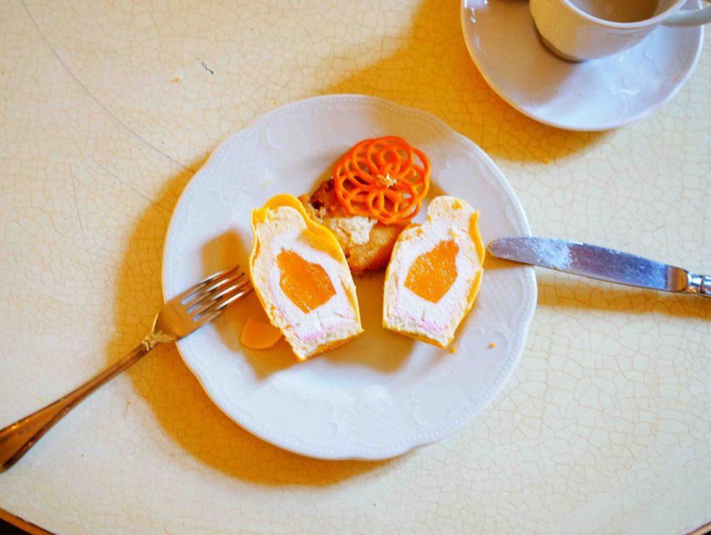 画像: マトリョーシカのケーキ(断面)