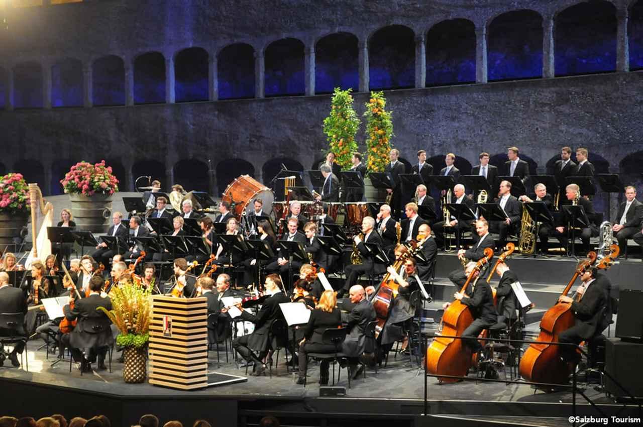 画像: ザルツブルク音楽祭2012年の様子