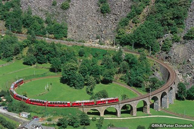 画像2: スイス・アルプス 絶景鉄道旅行