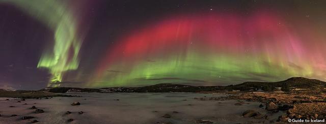 画像: 色とりどりのオーロラが舞う冬のアイスランドへ