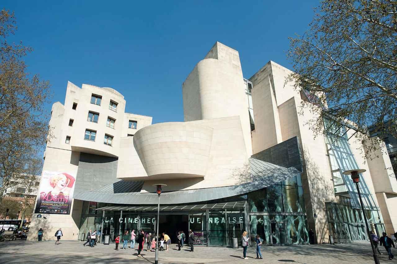 画像: Cinémathèque Française(シネマテーク・フランセーズ)© Paris Tourist Office - Photographe : Daniel Thierry - Architecte : Frank Gehry