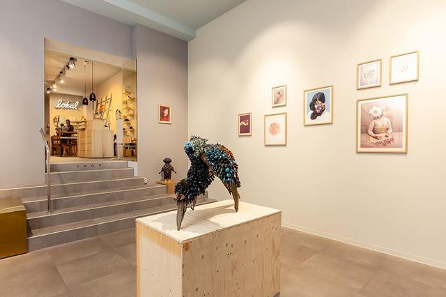 画像: ギャラリーでは年に8回の企画展が展開されている