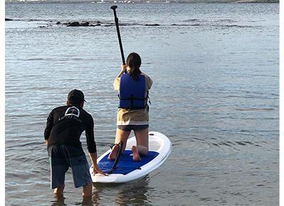 画像3: 現地スタッフが体験!~ ハワイ島 LIGHTSUP-スタンドアップパドルボード~