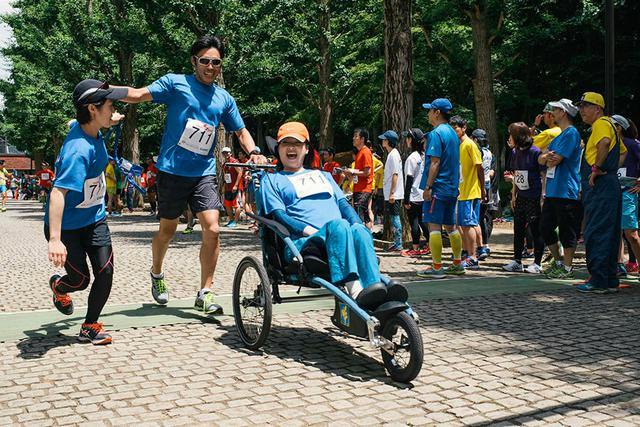 画像: 2017年7月に行われた『筑波大学なないろ4時間耐久リレーマラソン』