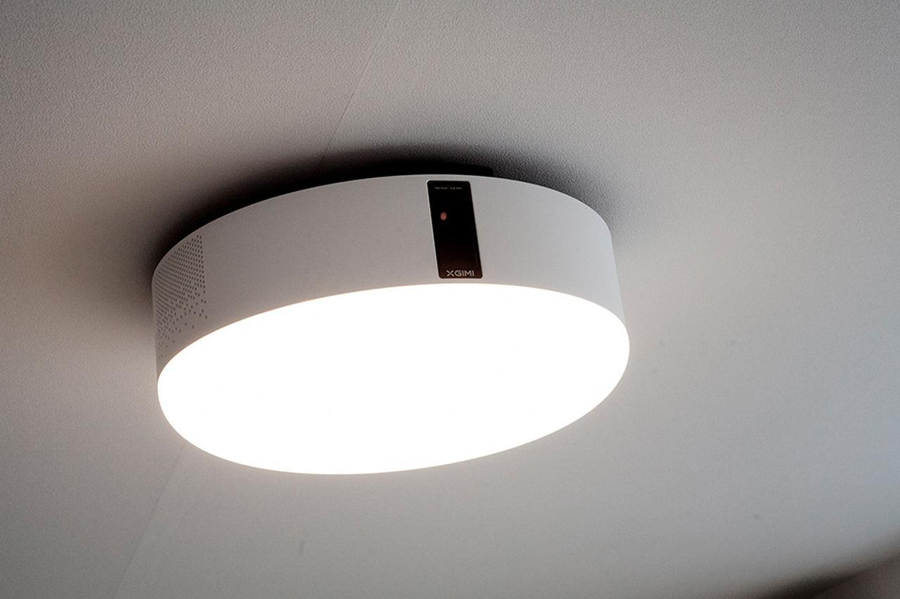 画像: 通常は部屋の照明として使用可能