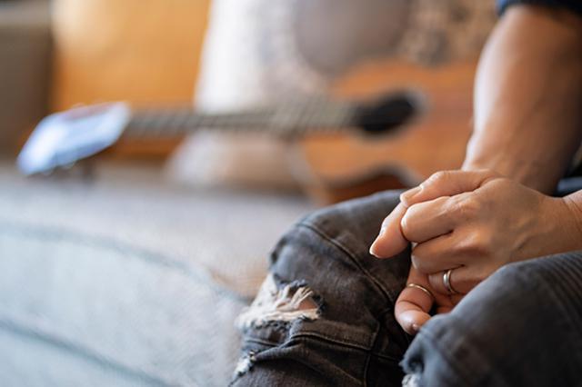 画像: 曲作りとハワイの関係。「音楽」と「思い出」は強く結びついているということ。