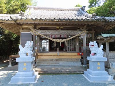画像: 713年創建の永尾劔神社