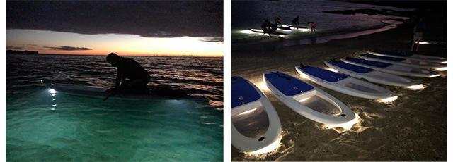 画像4: 現地スタッフが体験!~ ハワイ島 LIGHTSUP-スタンドアップパドルボード~