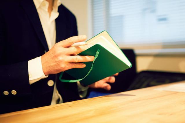 画像: 愛用するモレスキンのノート