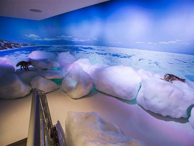 画像: 14:10 天都山展望台・オホーツク流氷館