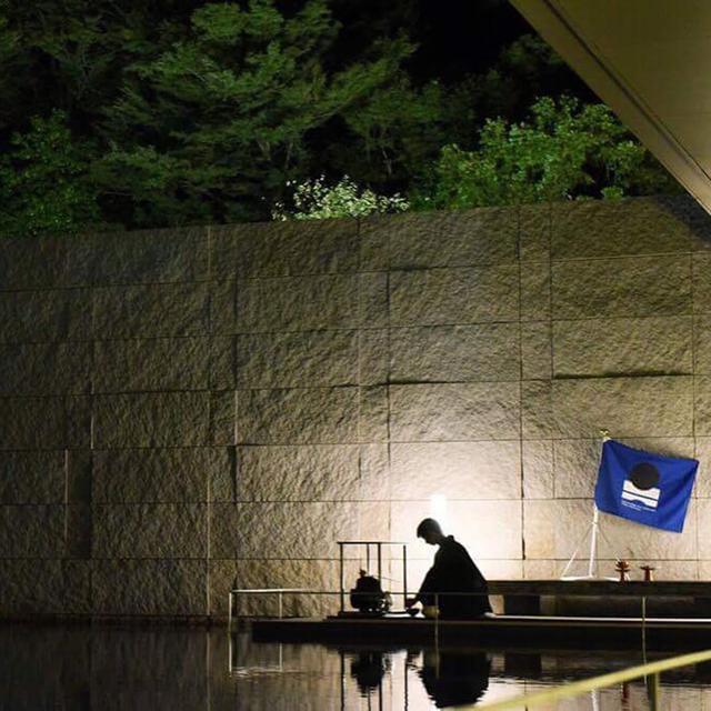 画像: 金沢、鈴木大拙館での供茶の様子