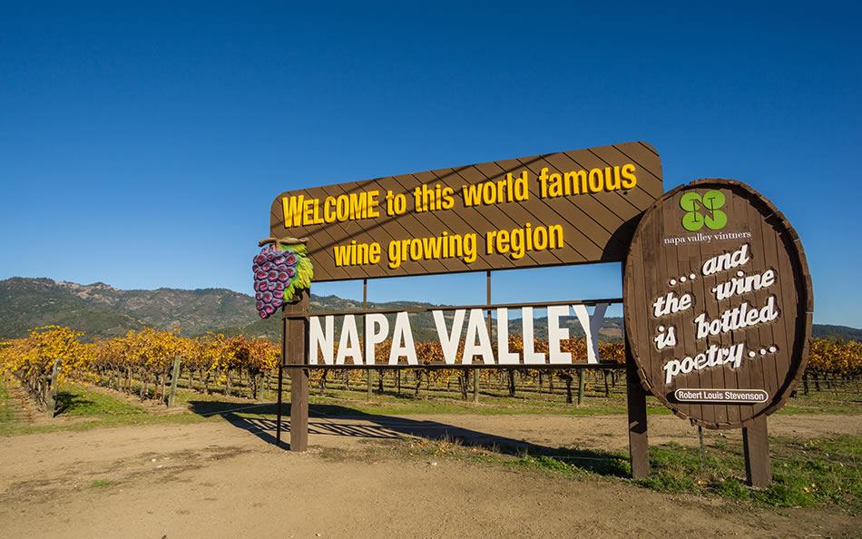 画像: 広大なぶどう畑や大小のワイナリーが存在するナパ・バレー 写真提供:Shutter Stock