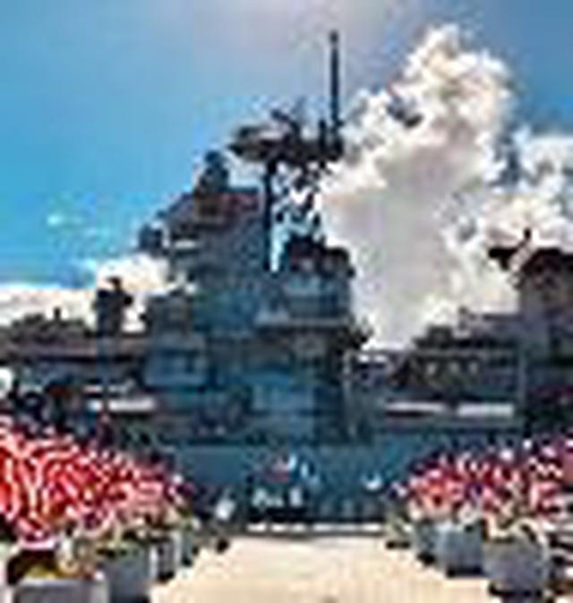 画像1: (ハワイ)現地スタッフが体験!~ホクレア パールハーバー戦艦ミズーリ&航空博物館~