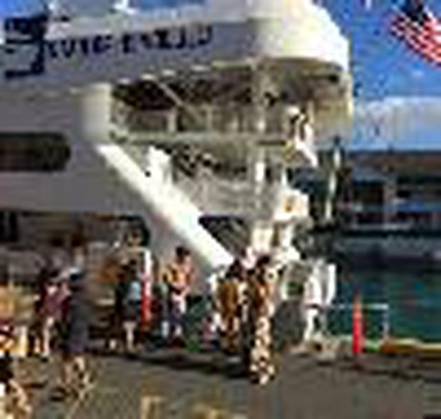 画像1: (ハワイ)現地スタッフが体験!~ファイブスター・サンセットダイニング&ジャズクルーズ~