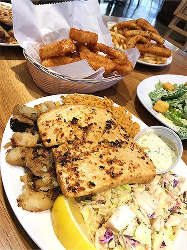 画像: イカのから揚げ(Deep Fried Calamari)もクセになる一品でした。