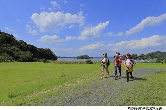 画像2: (宮城)癒しと共に生きる道「宮城オルレ」~海と空を満喫する奥松島コース~