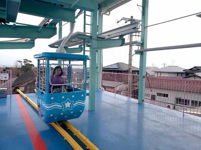 画像: ペガサスファンタジーという乗り物に乗車。上空からイルミを見渡すことができます。