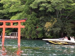 九頭竜神社参拝ボートクルージング