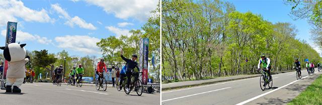 画像2: (北海道)大自然の中を駆け抜ける 弟子屈町「グランフォンド摩周」