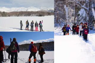 冬の知床五湖
