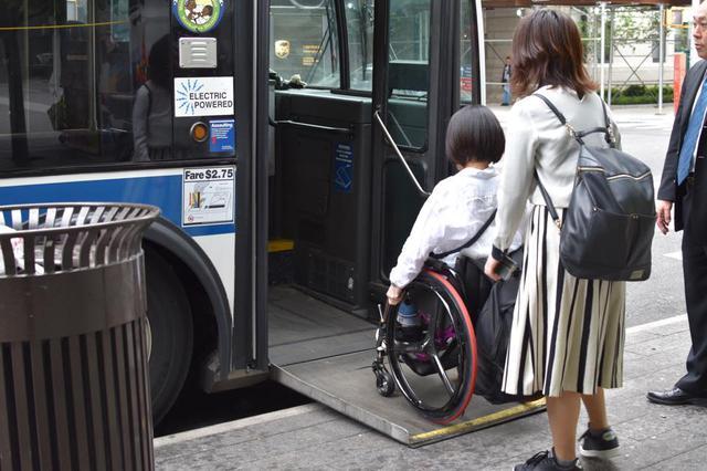 画像: バスも安心して利用できます