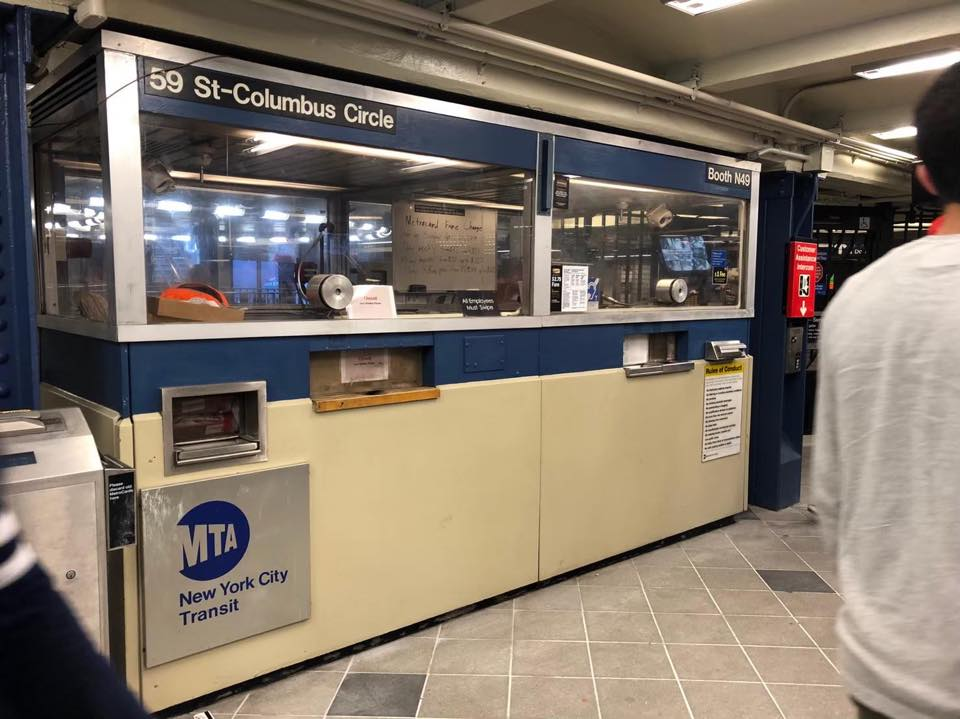 画像: 無人駅が多いニューヨークの地下鉄