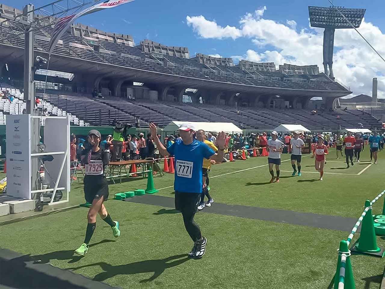 画像: ランナーズハイになったフルマラソンデビュー