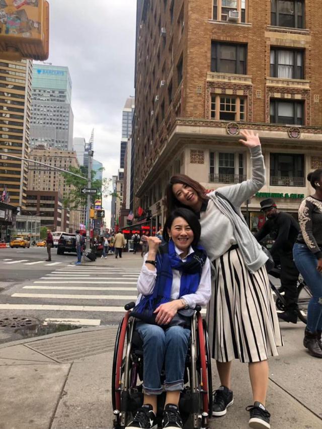 画像1: 車いすでも浮足立つ、ニューヨーク観光