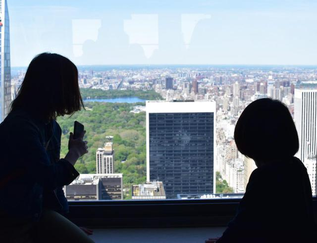 画像: ロックフェラー・センターから眺めるニューヨーク