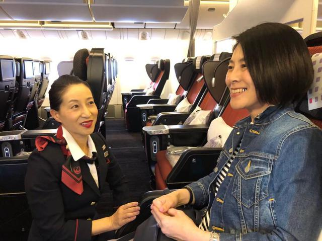 画像: CAさんや地上係員などスタッフの方にサポートいただき、長時間のフライトも安心して楽しむことができました。