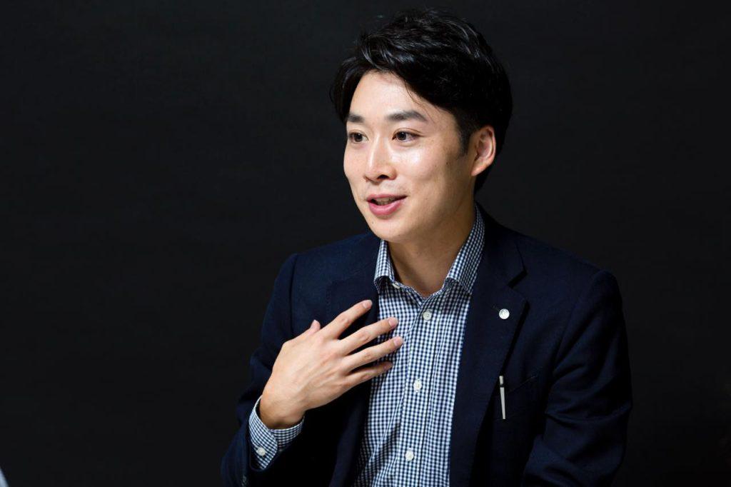 画像: 商品・サービス企画本部 開発部 客室サービスグループ 主任 福田慶太