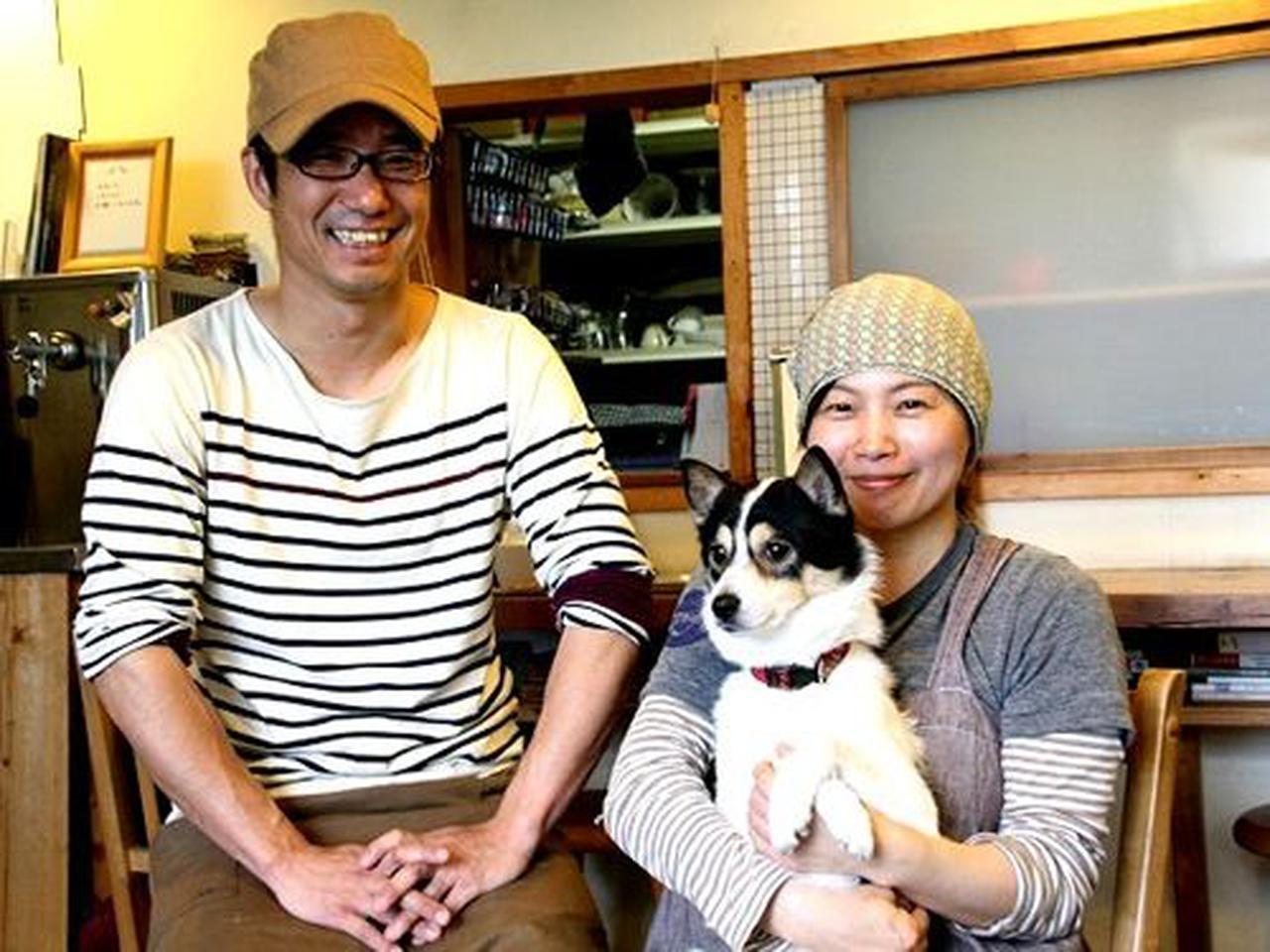 画像: マスターは、湯川卓也さん。大阪出身で、奥様と一緒にお店を切り盛りなさっています。