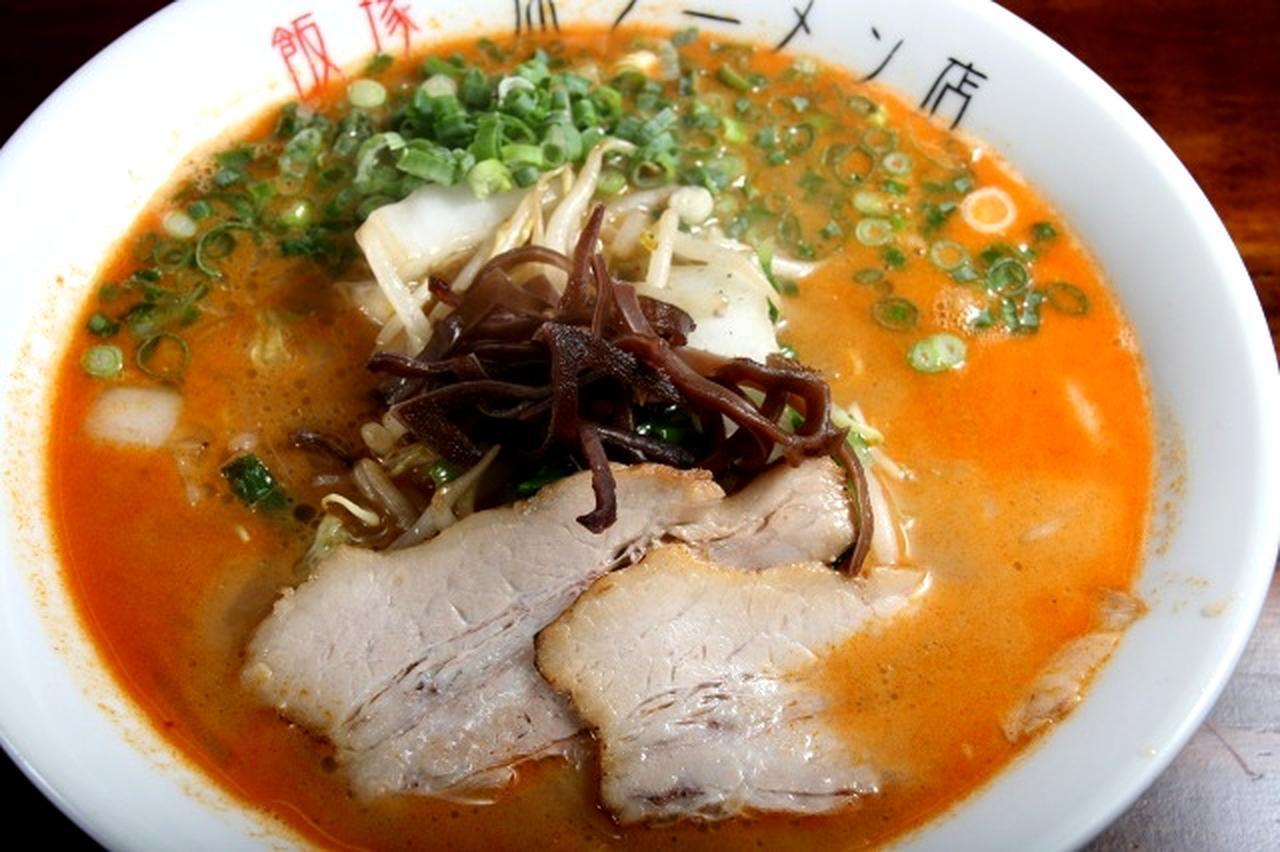 画像: 「醤(じゃん)ラーメン」。ベースは同じくクリーミーなトンコツスープだが、適度なピリ辛テイストが加わる