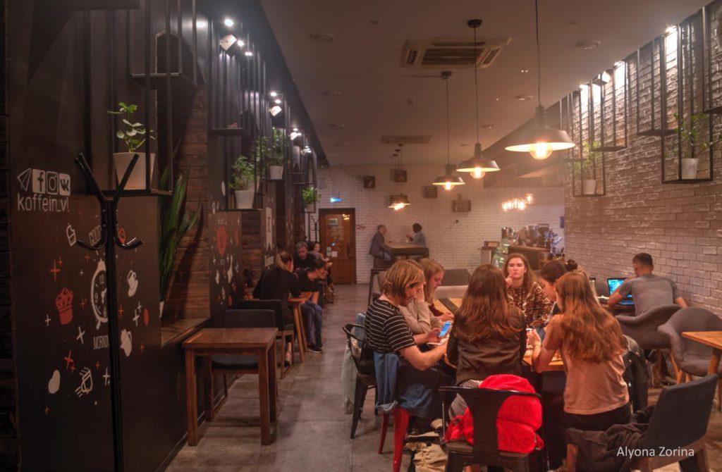 画像3: ウラジオストクの最先端おしゃれカフェ。アーティスティックな「カフェイン」