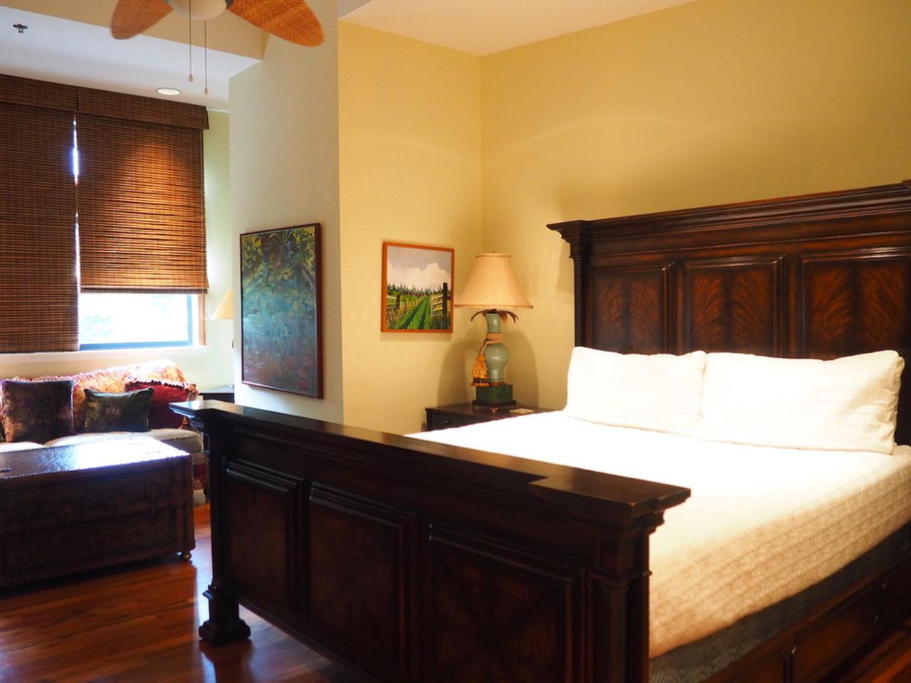 画像: 1つ目のベッドルーム